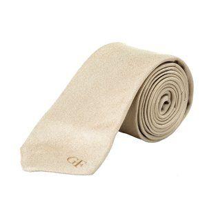 Gianfranco Ferre Men's Bronze 100% Silk Neck Tie